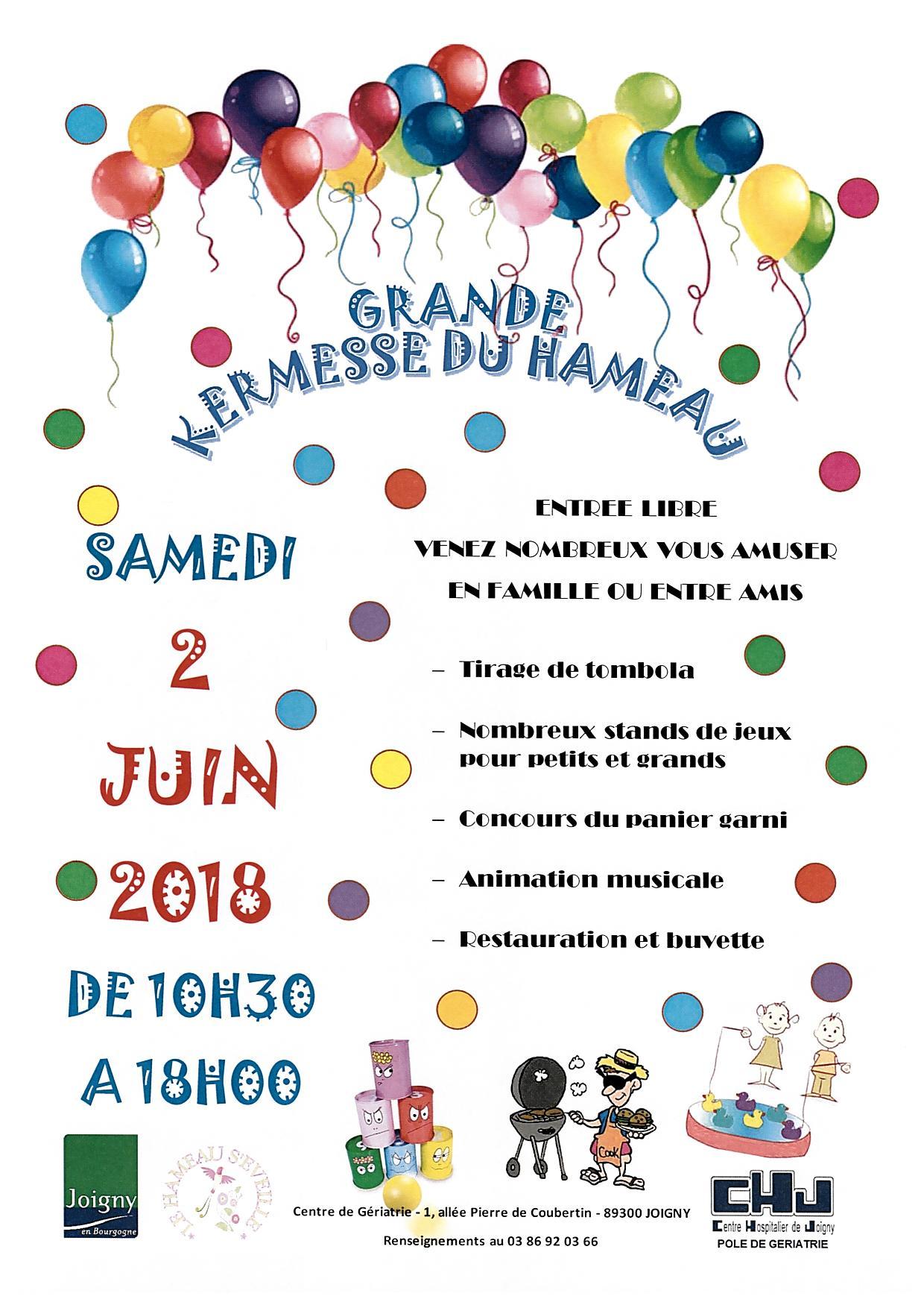 Kermesse du hameau ville de joigny - Office du tourisme joigny ...