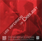Brochure spectacles Vendredis de Debussy - saison 2016-2017